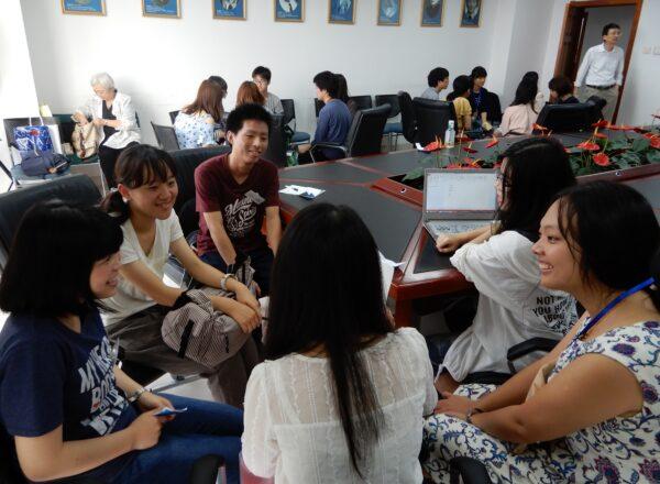 _北京師範大学での交流活動