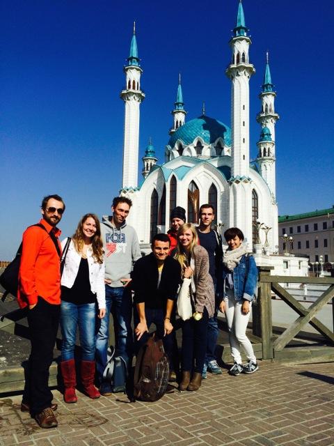At Kazan Kremlin, a World Heritage Site